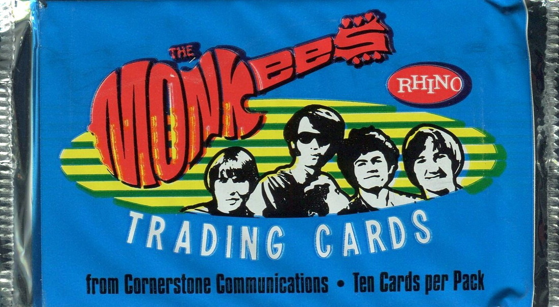 Monkees 1996 trading cards