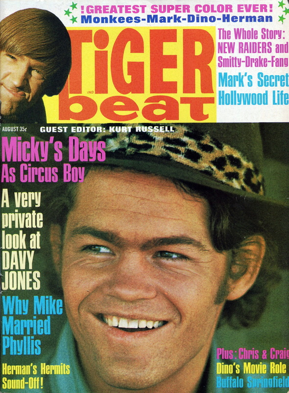 August 1967 Tiger Beat