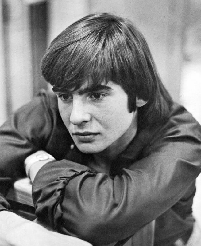 Davy Jones black and white