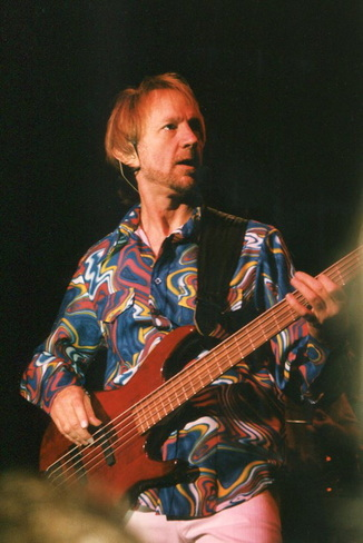 Peter Tork bass guitar