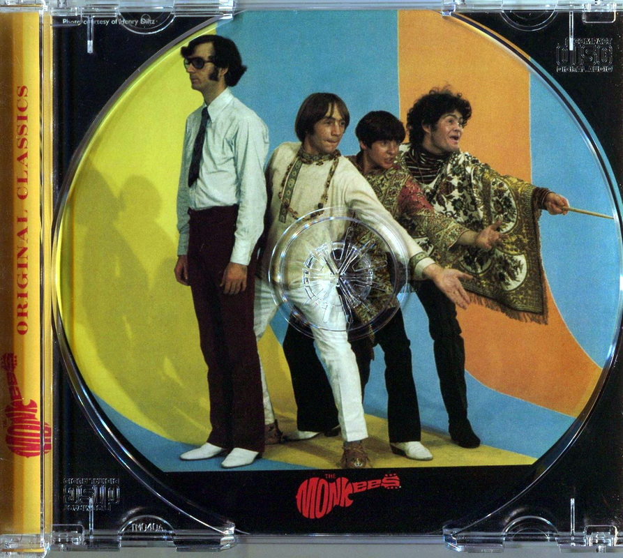 Monkees Missing Links Volume 3 CD tray