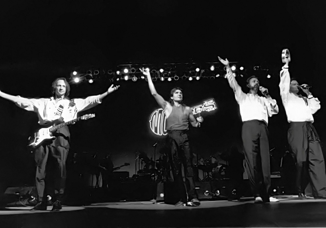 Monkees 1989 Universal Amphitheatre Nesmith