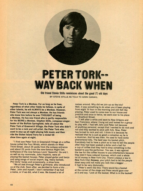 Peter Tork Stephen Stills