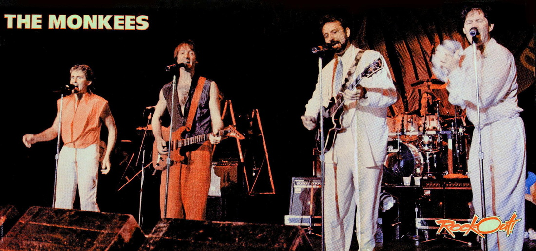Monkees 1986 Greek Theatre Nesmith