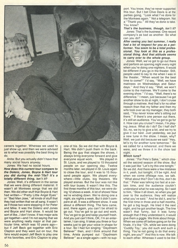 Monkees interview Davy