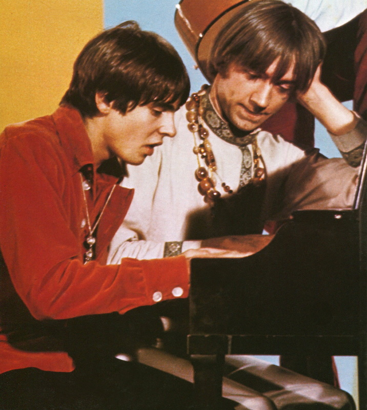 Monkees piano Davy Peter