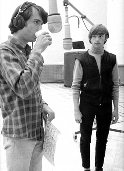 Mike Nesmith Peter Tork recording studio