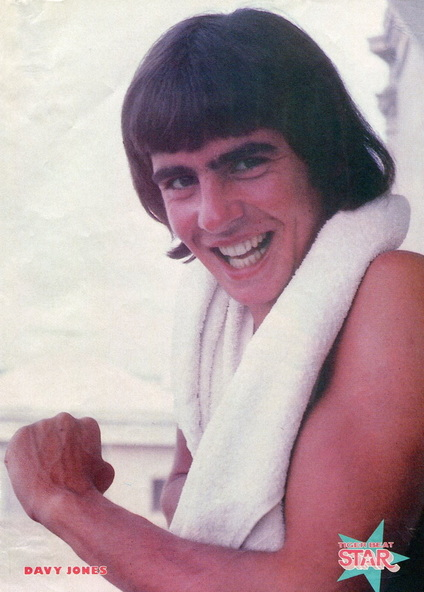 Davy Jones shirtless