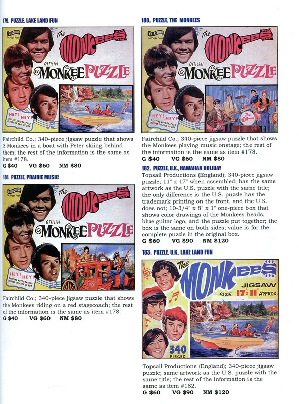 Monkees jigsaw puzzle