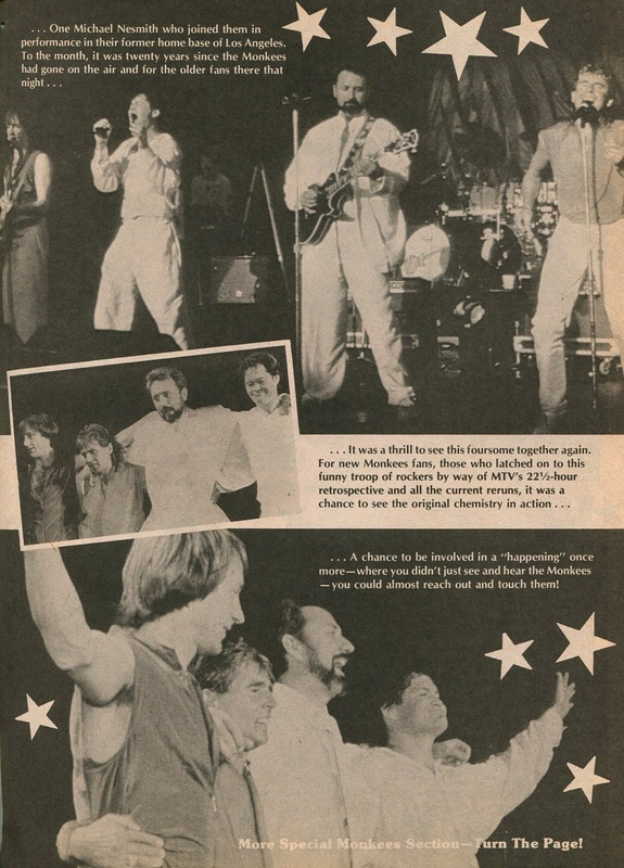 1986 Monkees reunion Nesmith