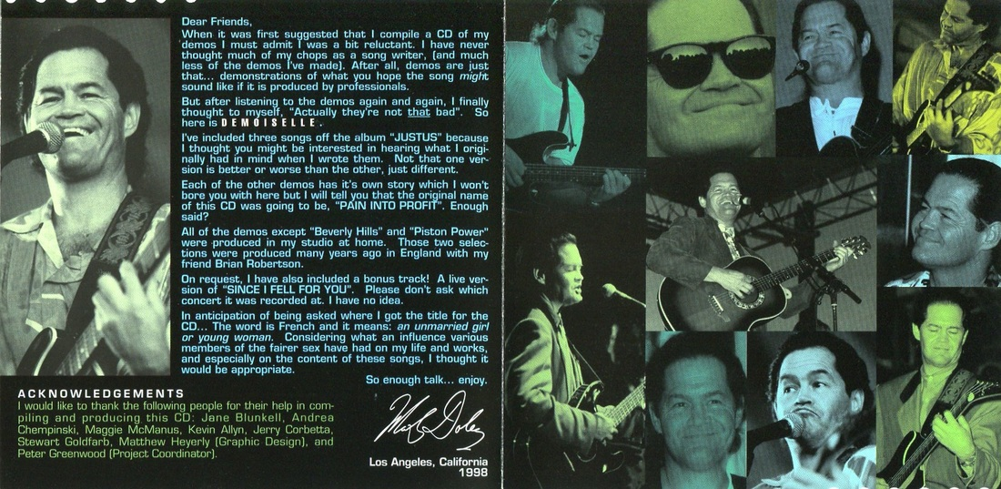 Micky Dolenz Demoiselle liner notes