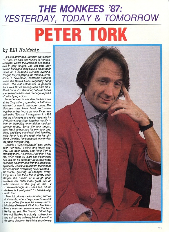 Monkees Peter 1986