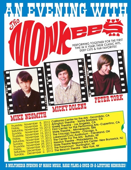 2012 Monkees tour dates