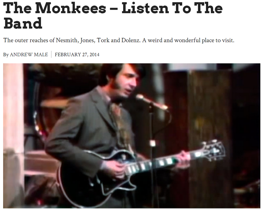 Monkees Listen to the Band