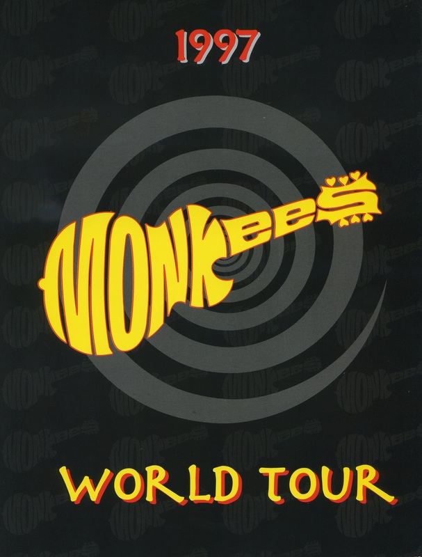 Monkees 1997 tour program