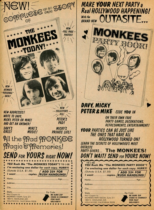Monkees Party Book