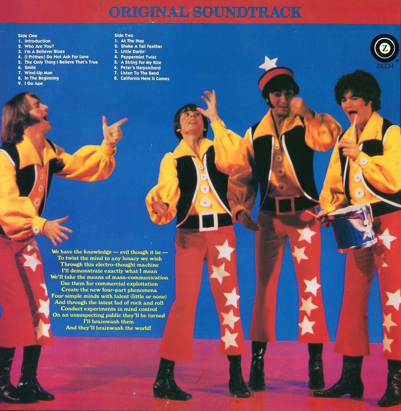 33 1/3 Revolutions Per Monkee back cover