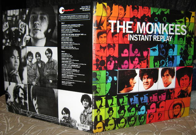 Monkees Instant Replay gatefold cover