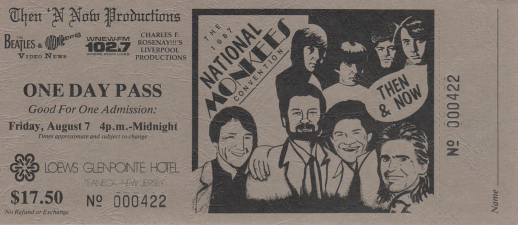 Beatles and Monkees Video News convention