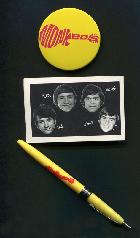 Monkees button pen