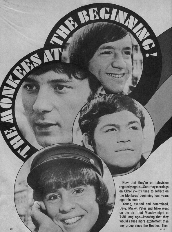 Monkees Saturday morning reruns