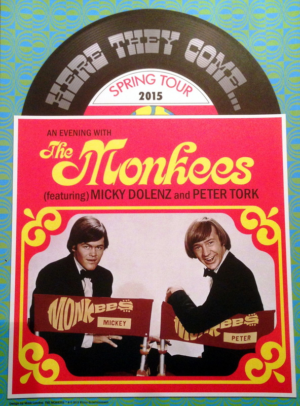 Monkees 2015 tour poster