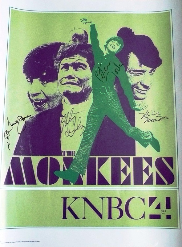 Monkees KNBC TV show poster