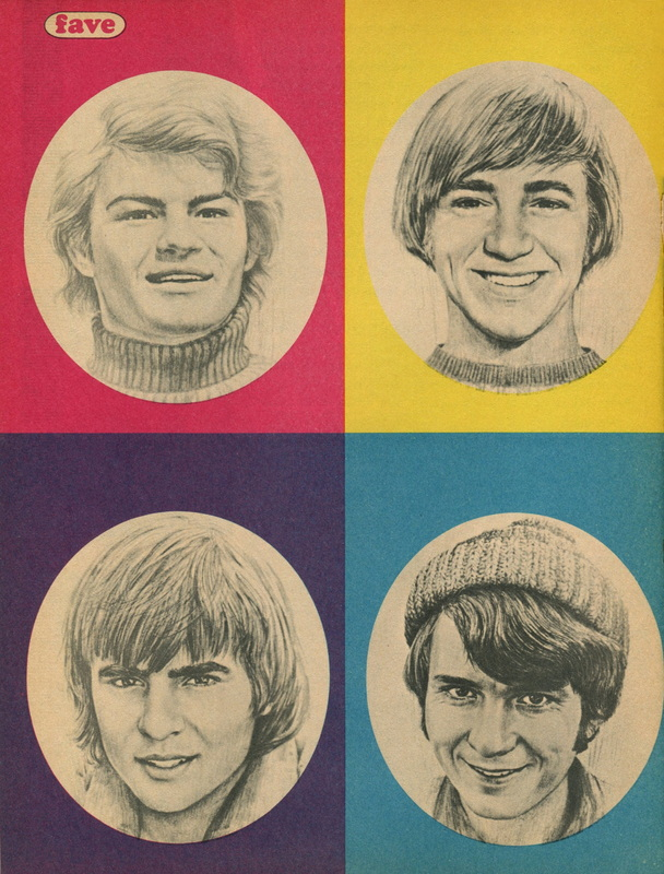 Monkees drawings