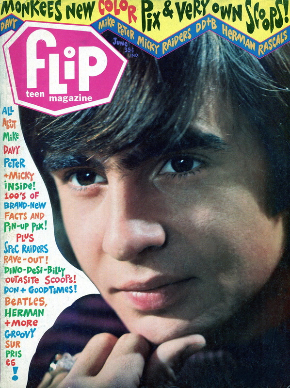 June 1967 Flip magazine cover Davy Jones