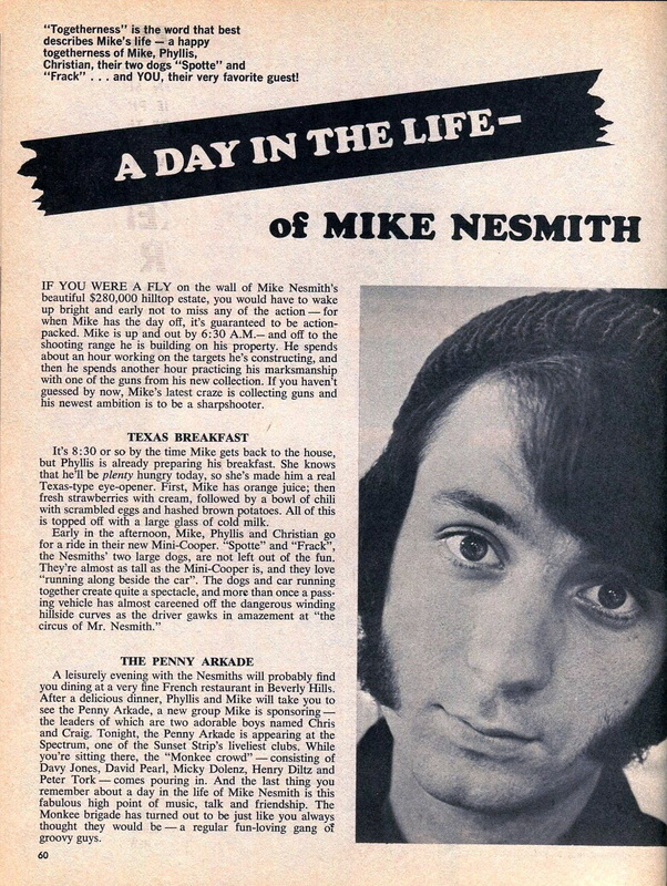Mike Nesmith Penny Arkade