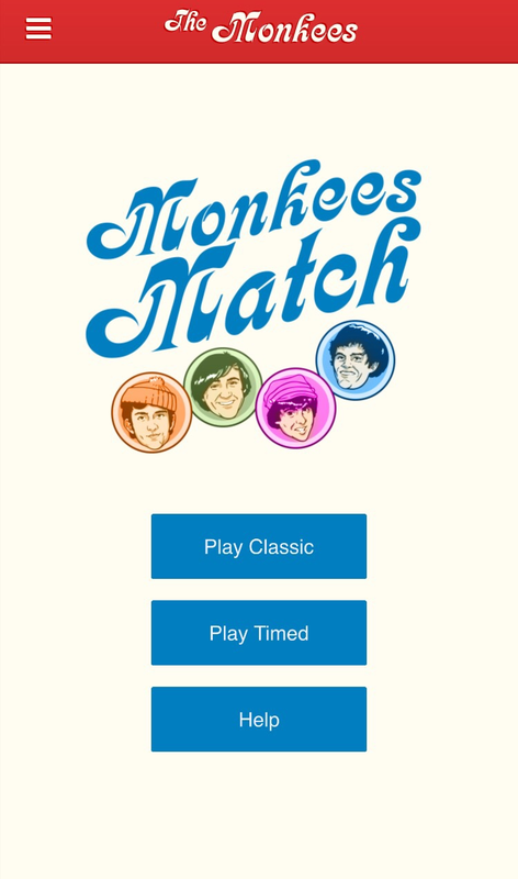 Monkees Match game