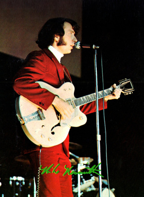 Mike Nesmith Gretsch Live 1967