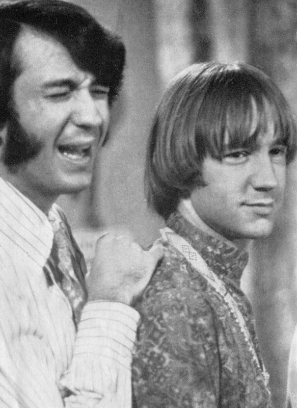 Mike Nesmith Peter Tork