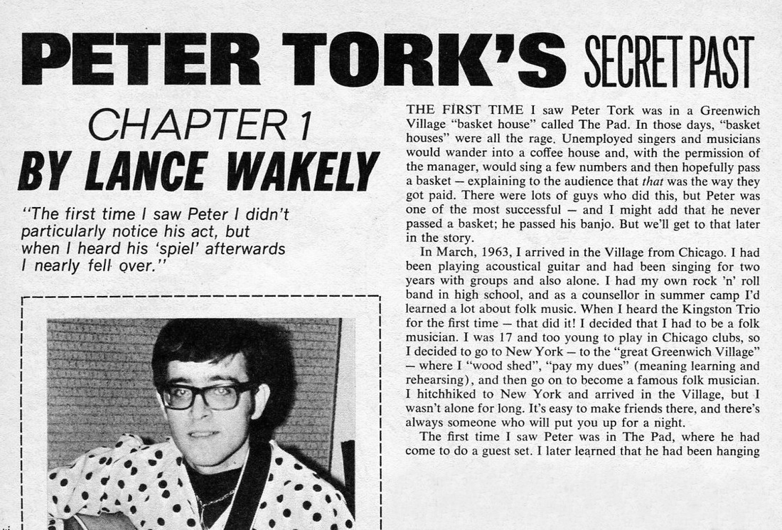 Lance Wakely Monkees Tork