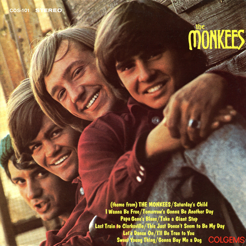 Monkees debut album cover