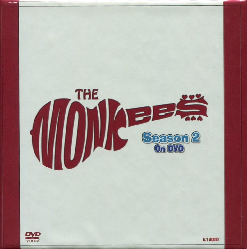 Monkees Season 2 DVD box set