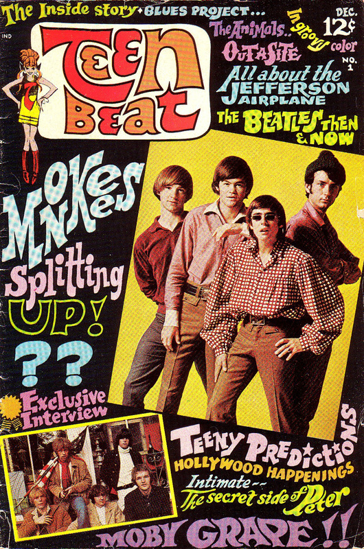 Monkees Teen Beat magazine