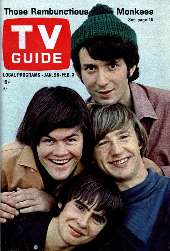 TV Guide Monkees cover January 1967