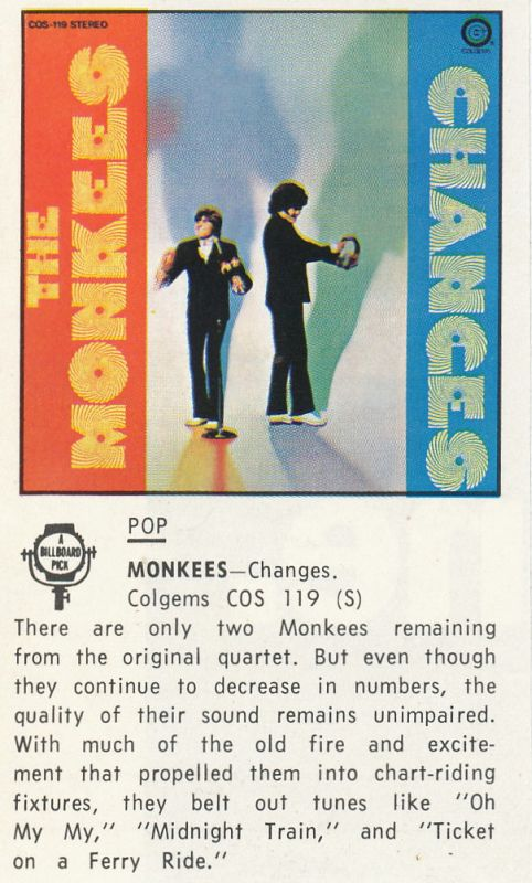 Monkees Changes review