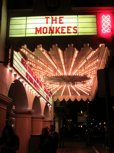 Monkees 2012 tour Arlington Santa Barbara
