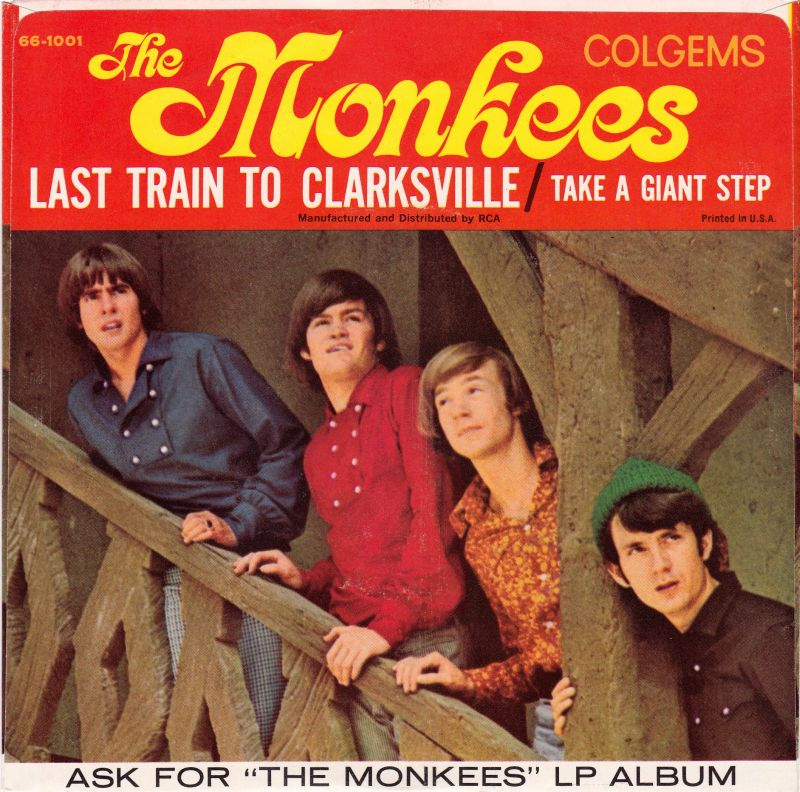 Monkees Clarksville picture sleeve