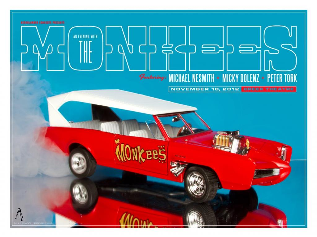 Monkees Greek Theatre 2012