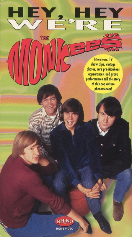 Monkees Rhino Documentary VHS