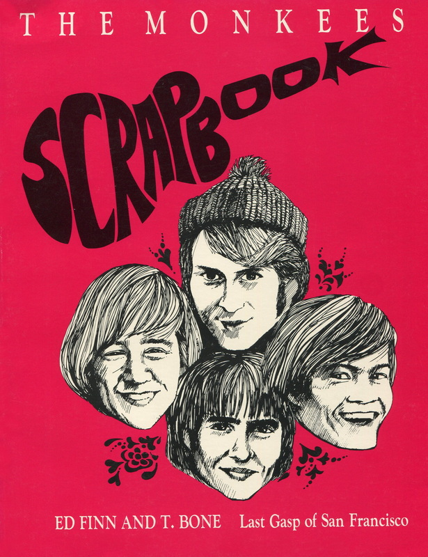 Monkees Scrapbook cover