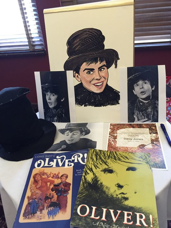 Davy Jones Oliver Broadway