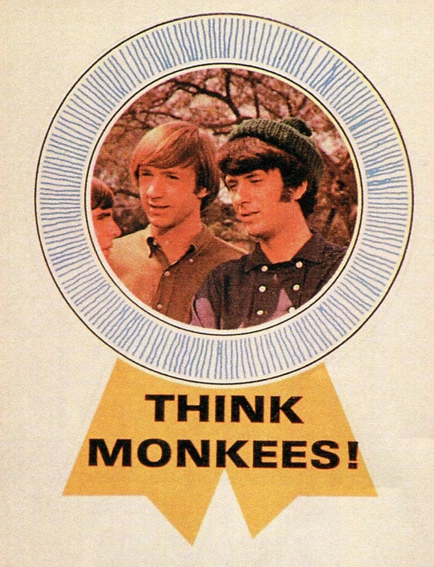 Monkees Donruss badge