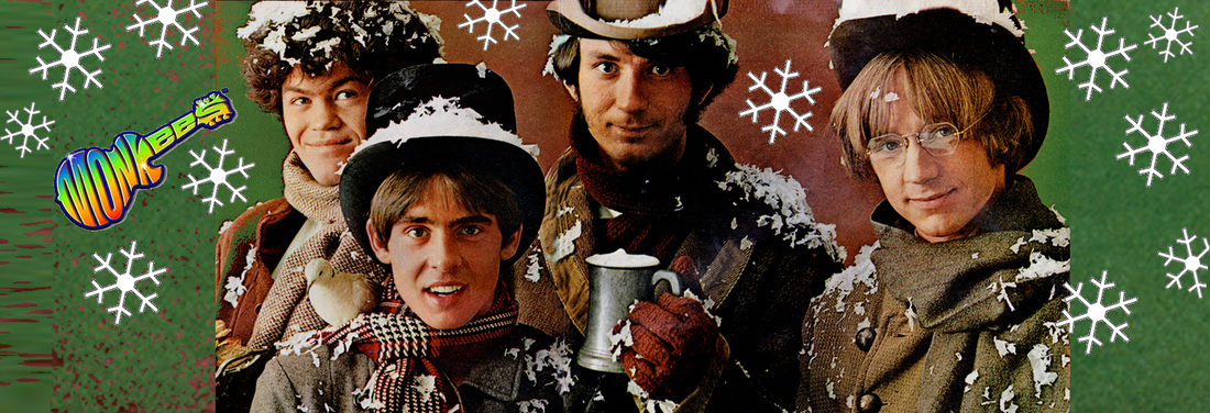 Monkees Christmas photo