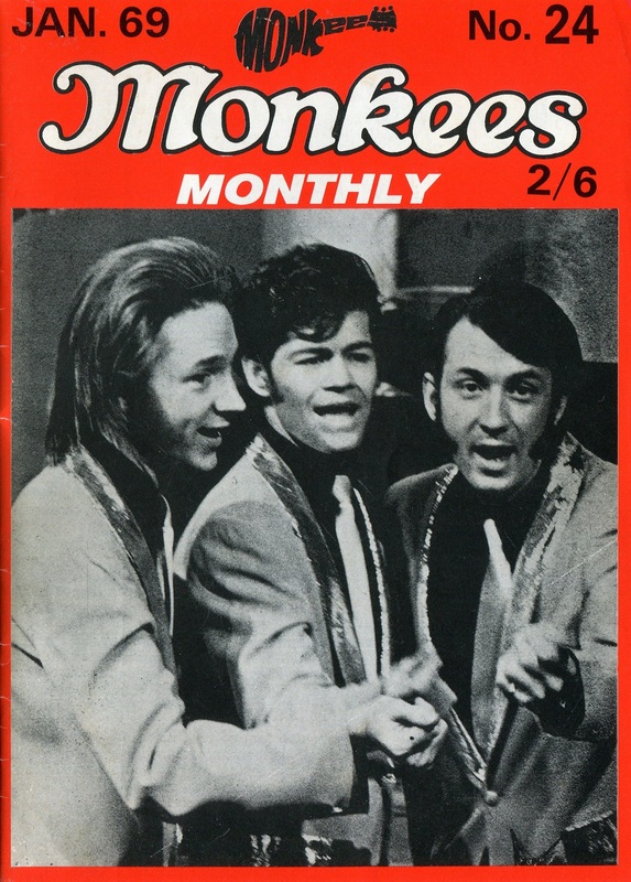 Monkees Monthly January 1969