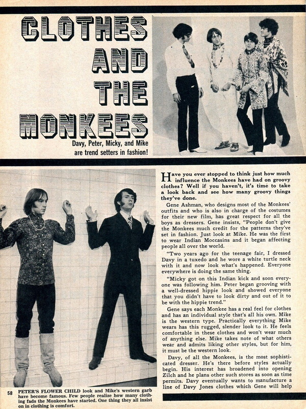 Monkees clothes