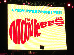 Monkees video screen